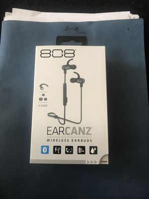 808 earcanz wireless headphones for Sale in Sheffield Lake, OH