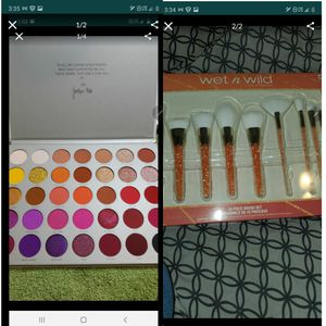 makeup Brushes and eyeshadow palette for Sale in Los Angeles, CA