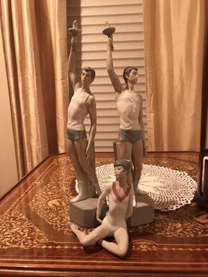 Lladro Athlete figurines (sold together & separately) for Sale in Englewood, NJ