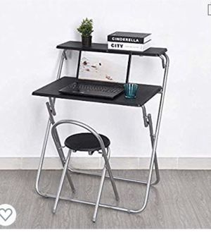 Computer desk set with chair for Sale in Sacramento, CA