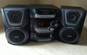 Panasonic Subwoofer Radio for Sale in Pawtucket, RI