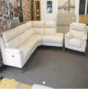 White couch set for Sale in Commerce, CA