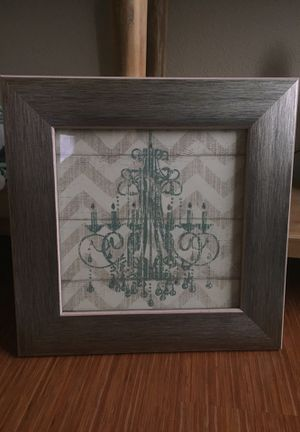 Chandelier picture in frame for Sale in Glendale, CO