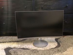 "27"" Curved Samsung Monitor for Sale in Los Angeles, CA"