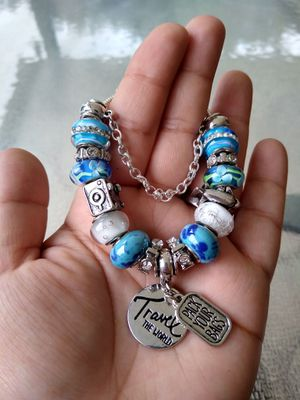 Pack your bags Pandora STYLE charm bracelet for Sale in Spring, TX