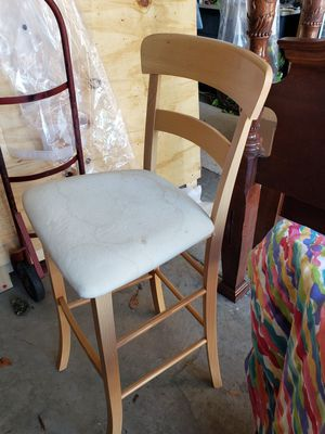 bar stool hardwood for Sale in Thompson's Station, TN
