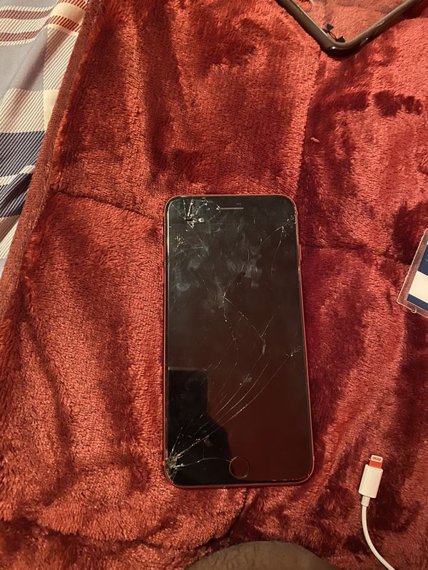 I phone 8 plus red