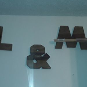 Board Letters L And M Or W for Sale in West Covina, CA