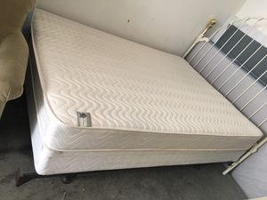 Mattress and box spring and bed frame DELIVERY AVAILABLE for Sale in North Charleston, SC