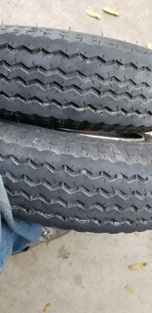 480 x 8 trailer tires for Sale in Lenzburg, IL