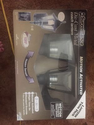 Motion activated lanterns for Sale in Wichita, KS