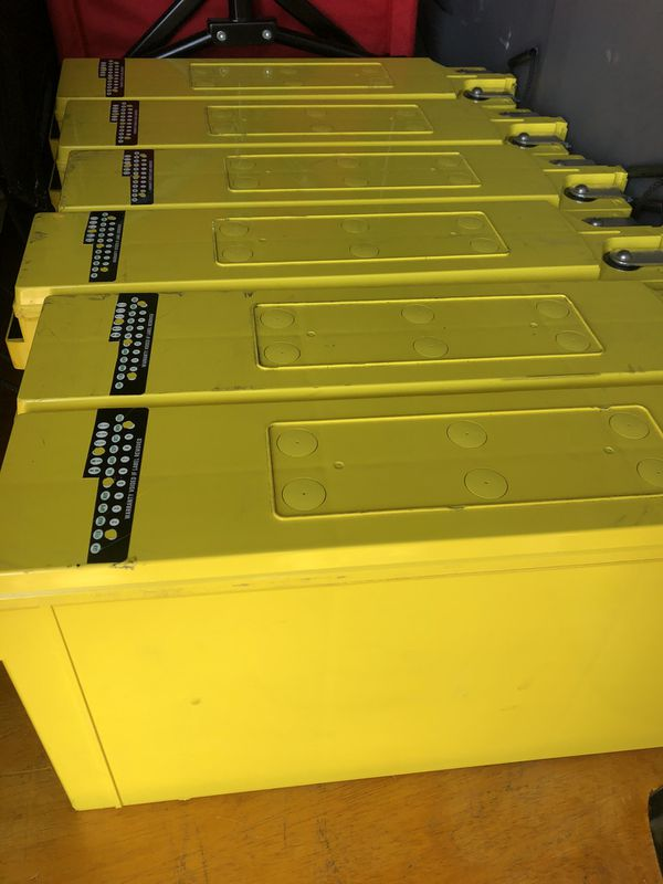Deep Cycle Battery, AGM technology , 150 amp hours , solar power bank, RV, Camper Van.