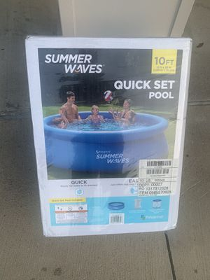 Summer waves 10x30 pool for Sale in Grapevine, TX