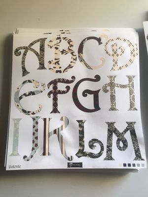 Scrapbooking Lettering A-Z for Sale in Carson, CA