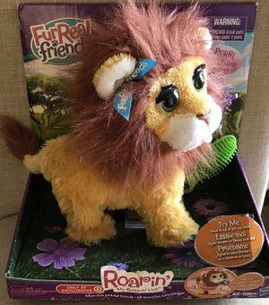 New In Box...FurReal Friends Roarin' My Bouncin' Lion Stuffed Animal/Pet for Sale in Wildomar, CA