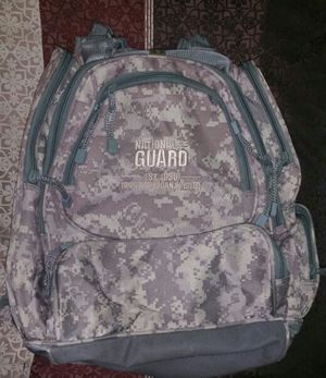 Backpack National Guard ,authentic. for Sale in Auburn, MA