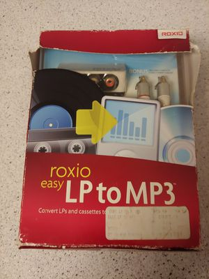Roxio easy lp to mp3 for Sale in Grand Prairie, TX