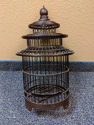 Wooden/Plastic Like Bird Cage Decoration for Sale in Portland, OR