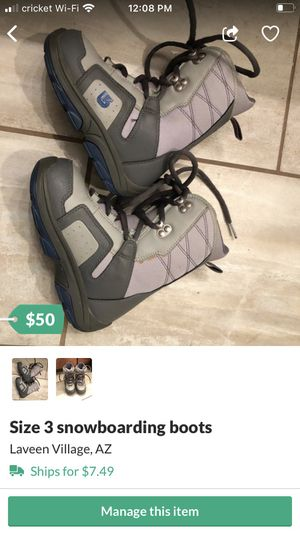 Kids snow boots for Sale in Laveen Village, AZ