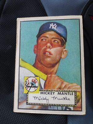 1952 Topps #311 Mickey Mantle rookie baseball card!! for Sale in Millersville, MD
