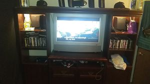 Entertainment center and tv must go now! for Sale in Mesa, AZ