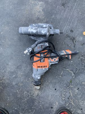 Drill 1/2 mud mixed. for Sale in Los Angeles, CA