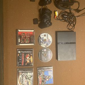 PlayStation 2 With Games, 2 Controllers And More. for Sale in San Diego, CA