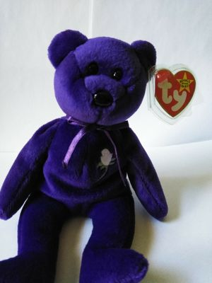Rare collector item princess beanie baby for Sale in Jackson, NJ