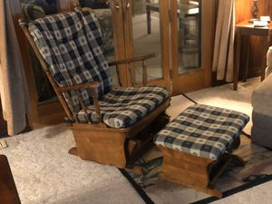 Rocking chair and ottoman for Sale in Medina, OH