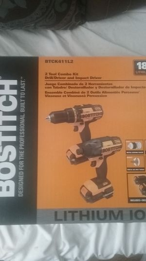 2 drill combo pack drill/driver and impact driver for Sale in Saegertown, PA