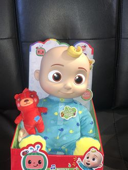 """Cocomelon Musical Bedtime JJ Doll & Teddy Soft 10"""" Plush Singing Toy YouTube for Sale in Seaside, CA"""