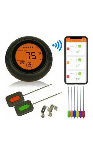 Wireless Meat Thermometer for Grilling, 6 Probes, Digital Cooking BBQ for Sale in Charlotte, NC