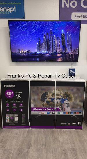 $39 DOWN/ 65 INCH HISENSE 4K SMART TV 📺 for Sale in Chino, CA