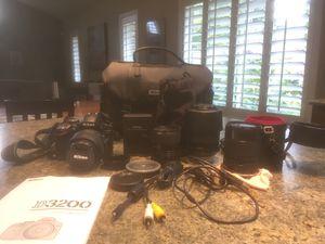 Nikon D3200 24.2MP Digital SLR Camera - Black (Kit w/ AF-S DX ED II 18-55mm for Sale in Portland, OR