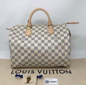 Louis Vuitton Classic Speedy 25 damier azur for Sale in Washington, DC