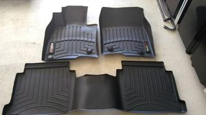 2014-2017 Mazda6 Weather tech floor mats for Sale in Templeton, CA
