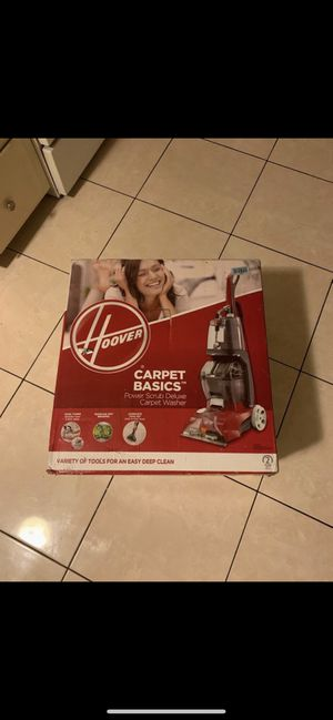 Hoover Power Scrub Deluxe Carpet Washer Vacuum for Sale in Santa Ana, CA