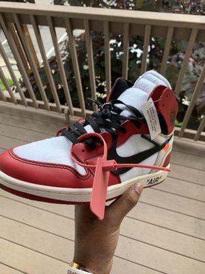 Jordan 1s offwhite for Sale in Nashville, TN
