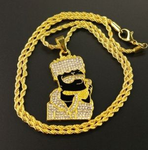 ICED OUT GOLD CHAIN for Sale in Silver Spring, MD