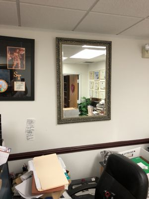 Glass Wall Silver/Silvertone w Black Antique (Michael's) like new for Sale in Fairfax, VA