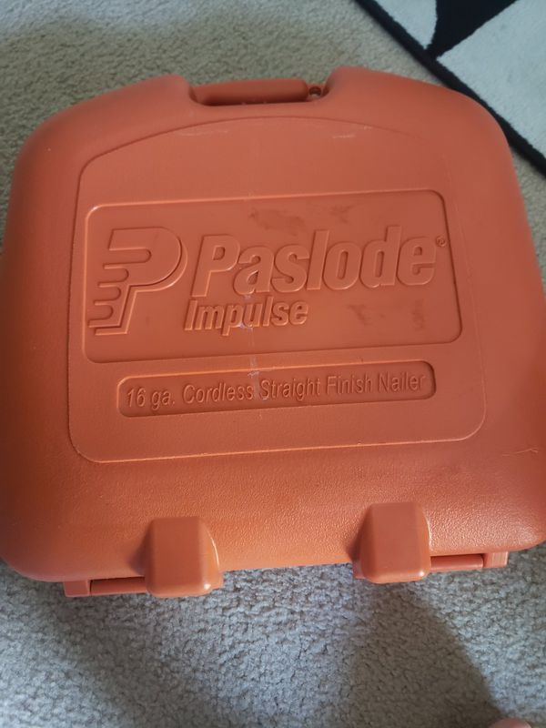 Paslode impulse 16 finish nailer