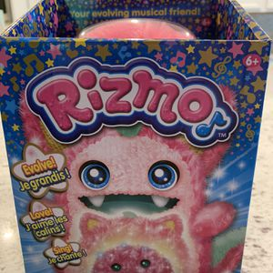Rizmo Evolving Musical Friend Interactive Plush Toy with Fun Games, Berry for Sale in Las Vegas, NV