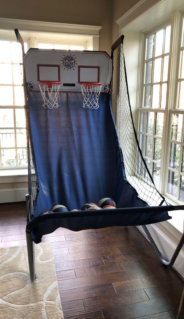Pop a shot 2 player indoor basketball hoop