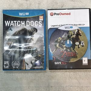 (2) —Wii U Nintendo Games ( Like New) for Sale in Wheaton, IL