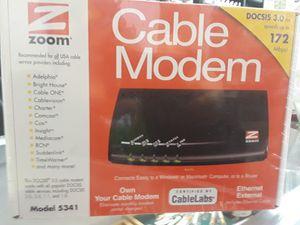 Zoom Docsis 3.0 Cable Modem for Sale in Tucson, AZ