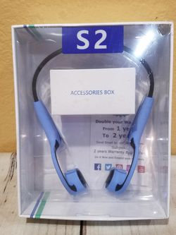 @CHV TAYOGO S2 BONE CONDUCTION SPORTS BLUETOOTH BT HEADSET HEADPHONES EARPHONES. #20 for Sale in Santa Clarita,  CA