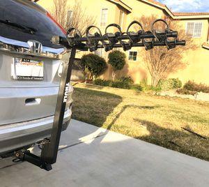 """Thule 5 bike 2"""" hitch rack - LIKE NEW! for Sale in Murrieta, CA"""
