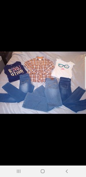 Girls 6pc JUSTICE lot size 10/12 for Sale in Waterford, PA