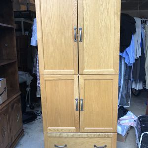 Pantry Cupboard Armoire for Sale in Lake Stevens, WA