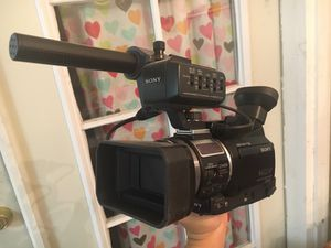 Sony Professional HVR-A1U HDV Camcorder for Sale in San Francisco, CA